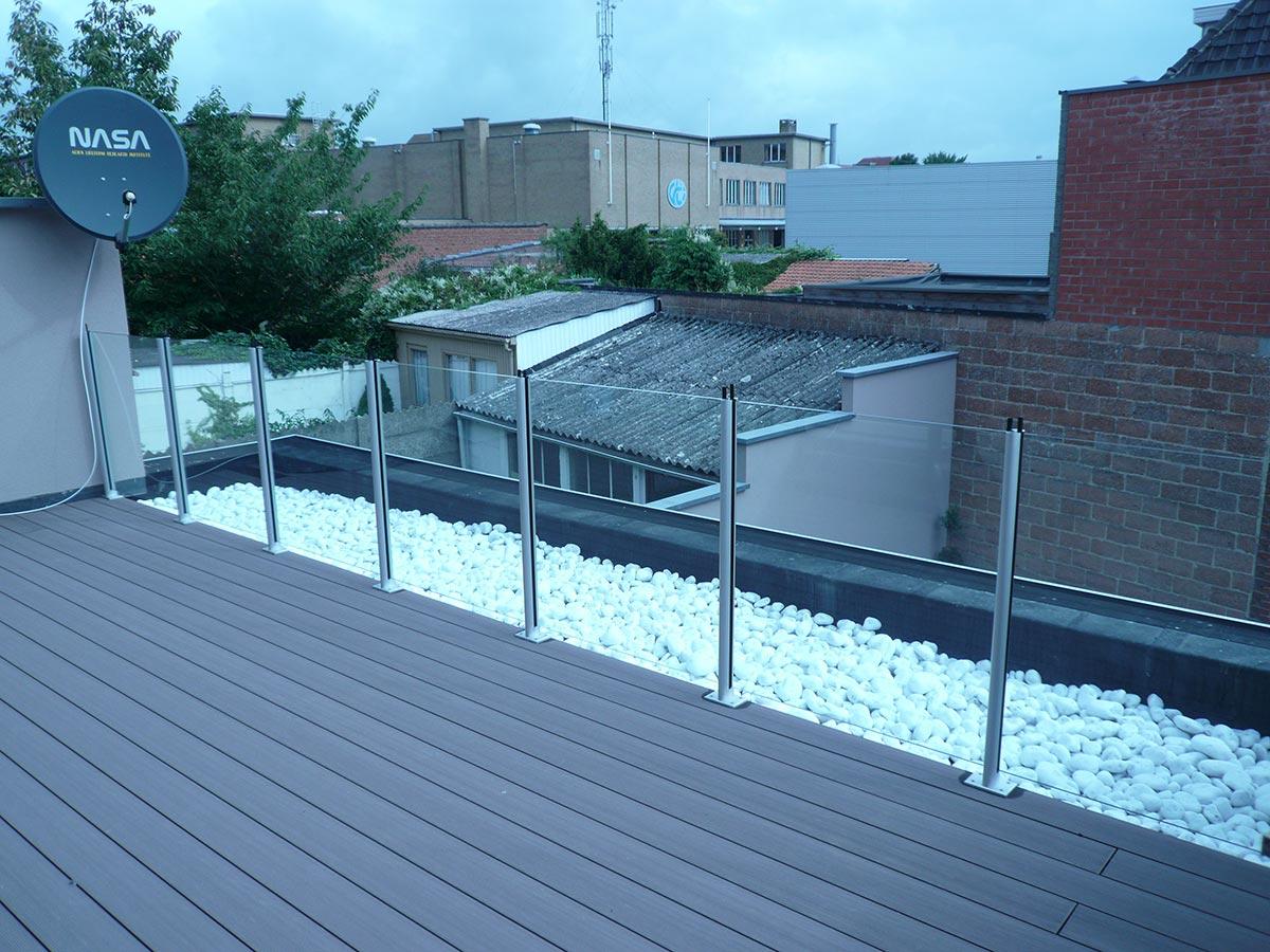 Balustrades exterieur decoglas tielt for Balustrade escalier exterieur